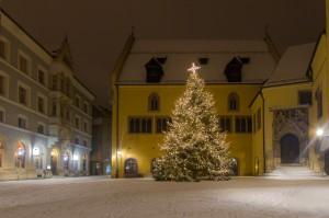 Christbaum am Alten Rathaus