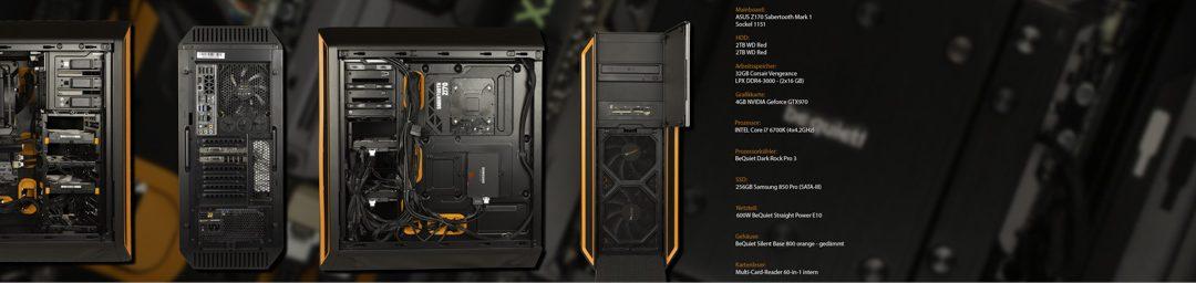mein neuer PC für Lightroom, Photoshop und Video