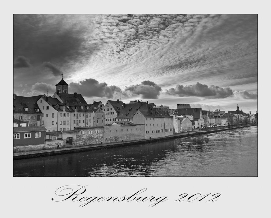 Wolkenwunder über der Altstadt
