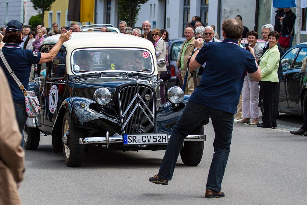 Oldtimer-Rallye 2012