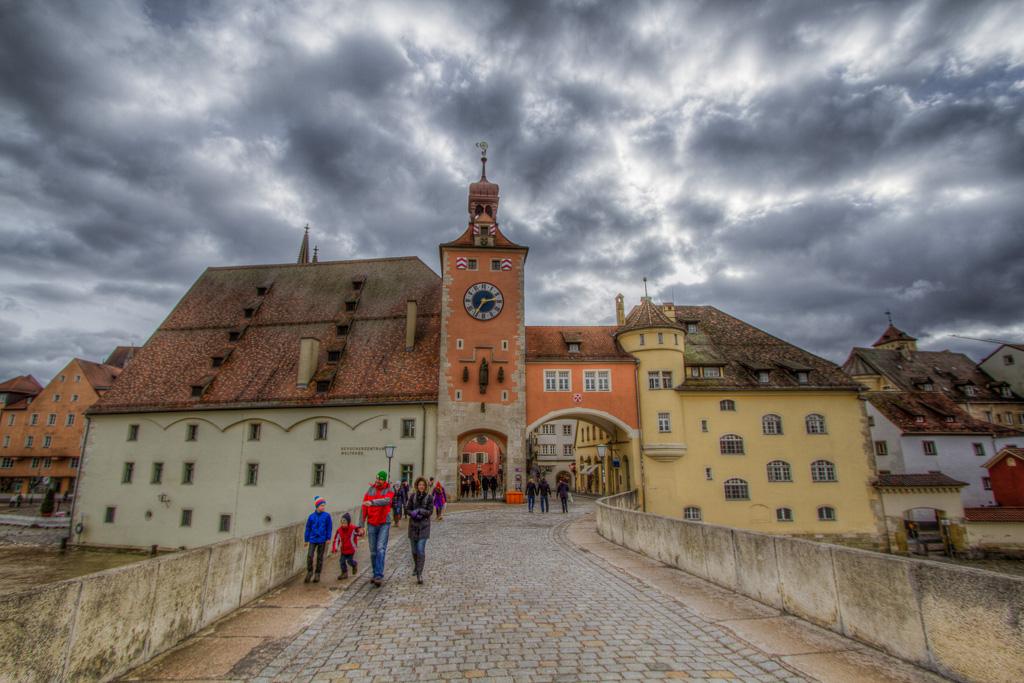 Regensburg in HDR