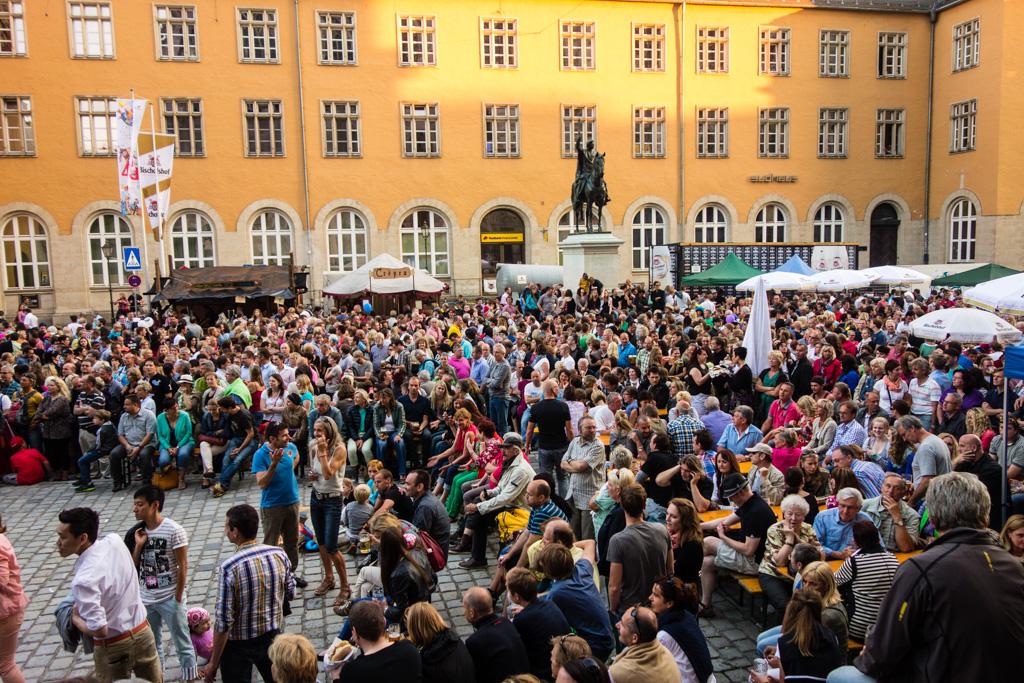 Publikum bei Luis Trinkers Höhenrausch.