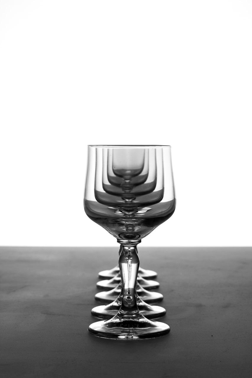 Glas im Bild