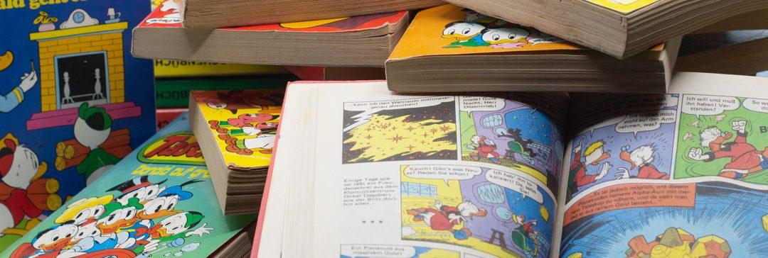 Comics – eine Zeitreise in Bildern